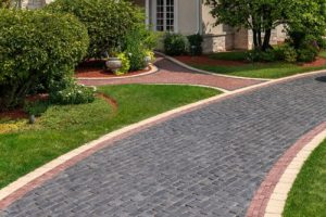 Driveway replacement pavers Bedford, NH